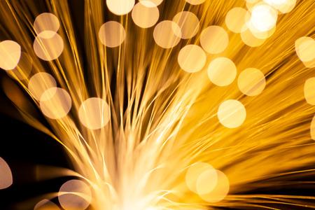 fibre optic: Fibre Optic Light