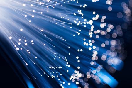 Fibre optic light Standard-Bild