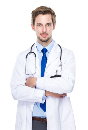 Medical doctor portrait photo