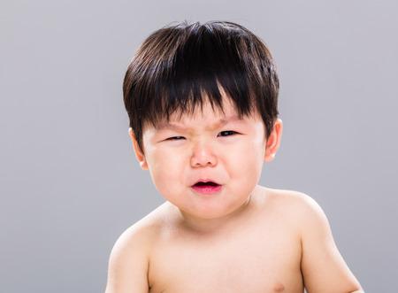 Baby cry photo