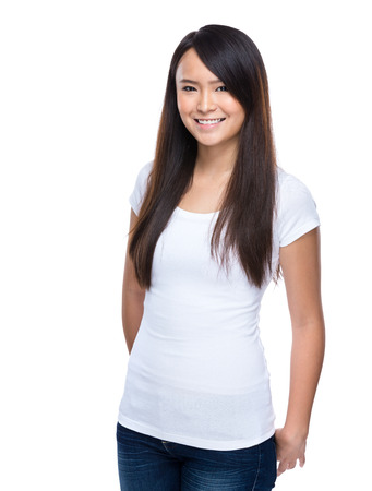 portarit: Asian young woman portarit Stock Photo