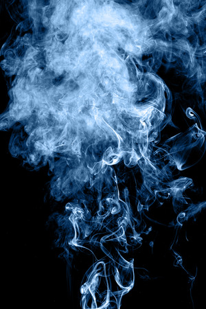 twirling: Smoke rising