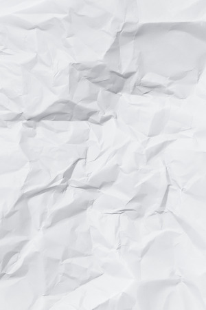 Wrinkled paper texture Archivio Fotografico