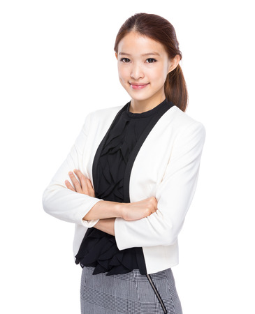 real esate: Business woman