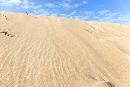 Desert with beautiful sky photo