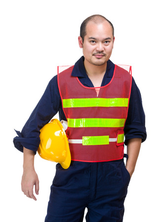 foreman: Asian foreman Stock Photo