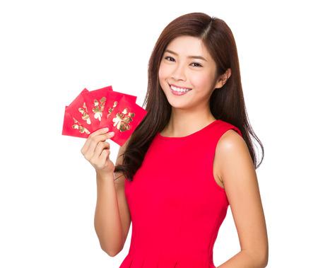 money pocket: Mujer y dinero de bolsillo chino