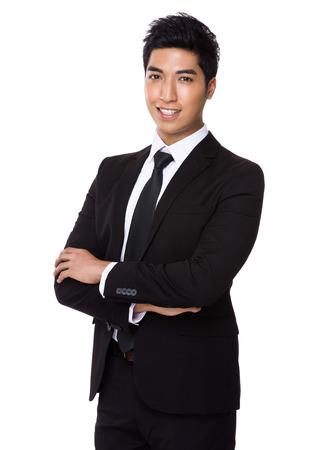 mixed race boy: Asian Businessman