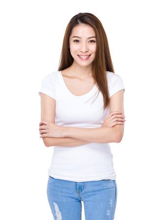 mujer alegre: Asia Mujer