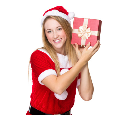 guess: Xmas girl guess the thing in giftbox
