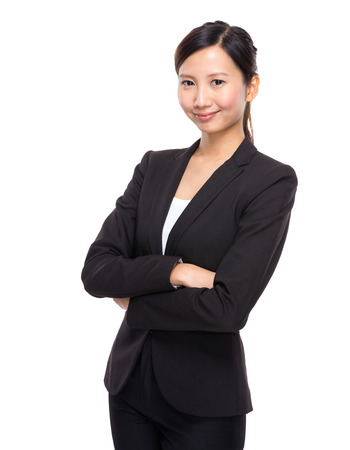 one female: Business woman