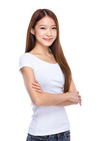 one teenager: Woman Stock Photo