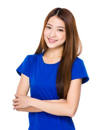 happy teens: Woman portrait Stock Photo