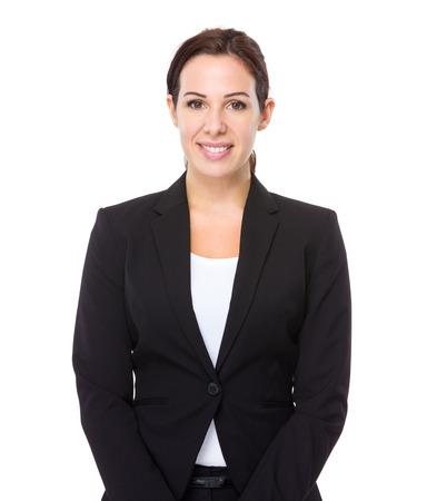 female boss: Business woman portrait