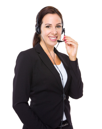 call center people in isolated: Call centre operator