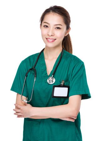 stethoscope girl: Asian Doctor