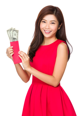usd: Chinese Woman open with USD pocket money