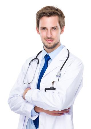 doctor: M�dico Foto de archivo