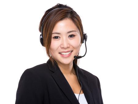 servicio al cliente: Ayudante de centro de llamadas
