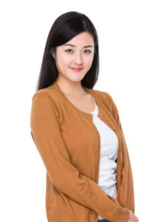 white coats: Woman Stock Photo