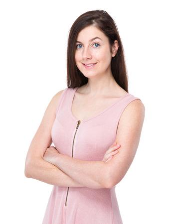 causal clothing: Woman Stock Photo