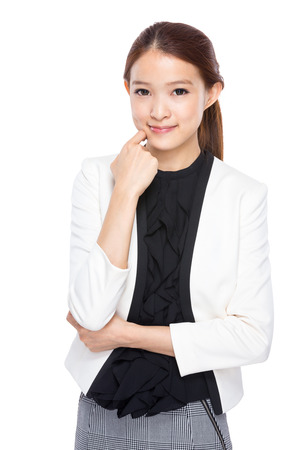 real esate: Asian Businesswoman