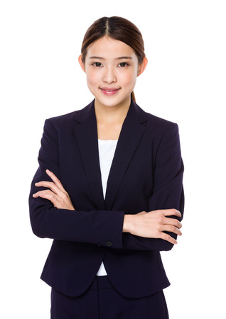 Confident Asian Business woman photo