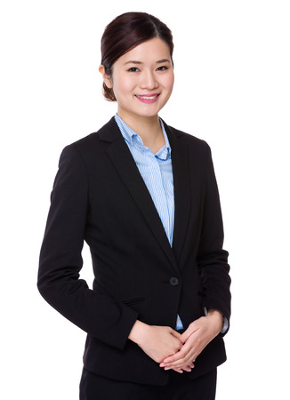 business suit: Businesswoman