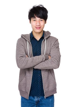Hombre asiático Foto de archivo - 38877475