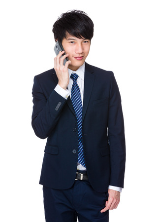 bargain: Asian business man bargain