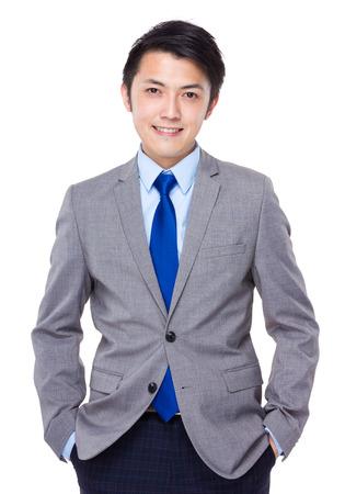 smartness: Young good looking asian business man