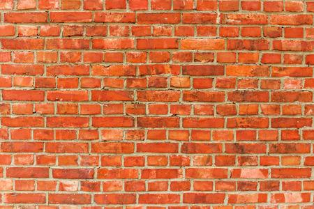 paredes exteriores: Pared de ladrillo rojo de fondo