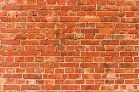 solid background: Red brick wall background