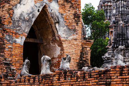 historical architecture: Historical architecture in Ayutthaya, Thailand