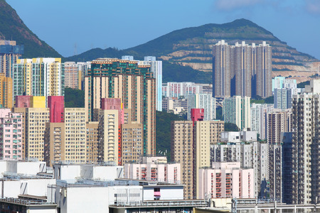 Hong Kong residential building photo