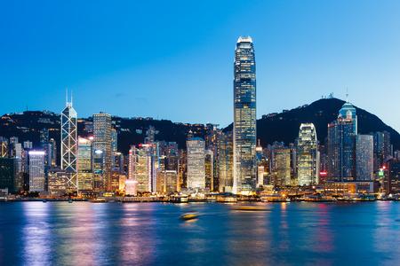 香港のビクトリア ・ ハーバー