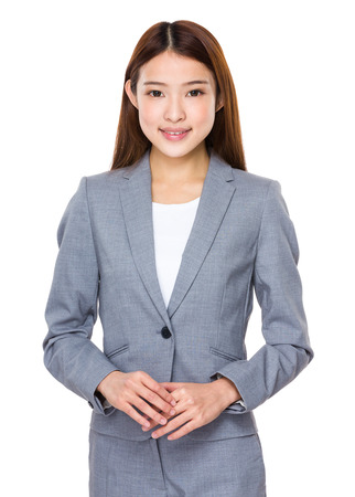 busines: Casual asian busines woman Stock Photo