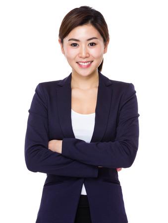 Asian businesswoman portrait photo