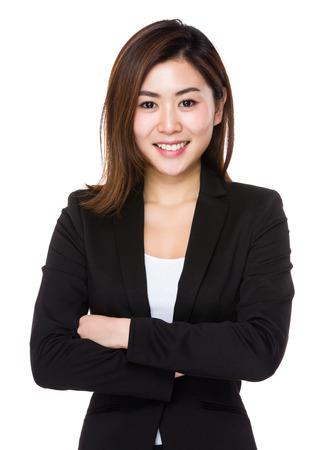 Businesswoman portrait photo