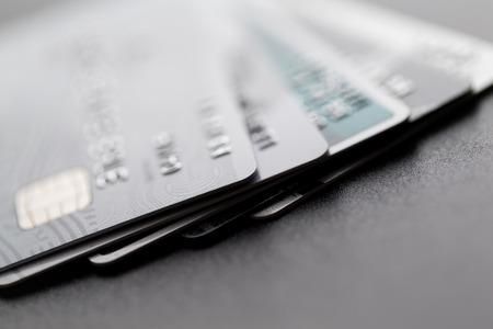Hoop van creditcard