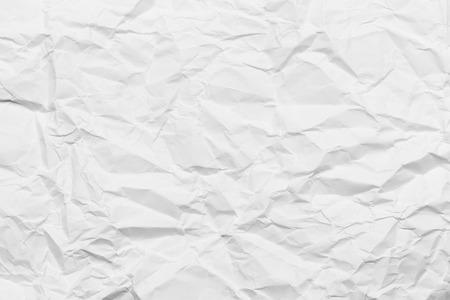 crinkles: Wrinkled paper white background texture