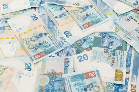 twenty: Group of twenty Hong Kong dollars