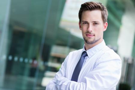 american banker: Serious Businessman