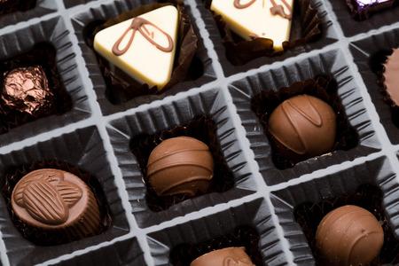 truffle: Box of chocolate truffle