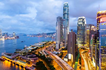 Victoria Harbor in Hongkong