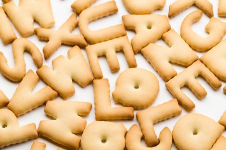 Pile of text cookie 版權商用圖片