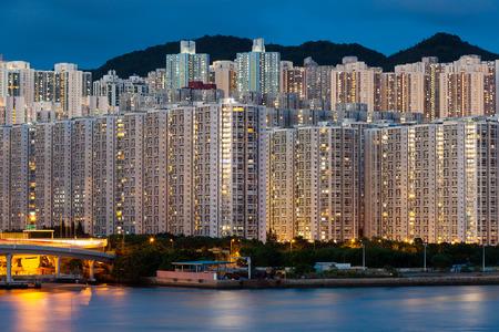 density: Hign density residential building in Hong Kong