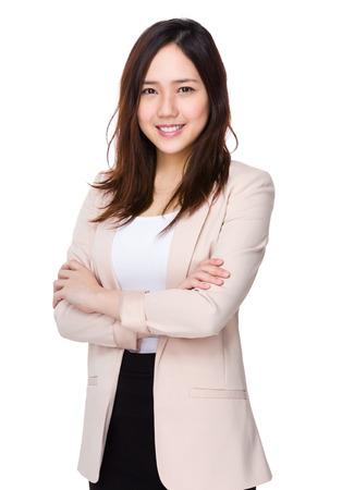 helper: Asian business woman