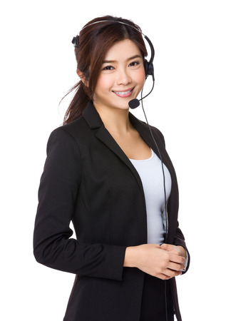 hotlink: Customer services representative