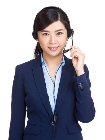 hotlink: Customer services operator